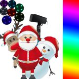 7 Colors Christmas laser light white light laser projector with RF Controller