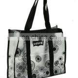 cheap high quality big fashion foldable plastic shopping bag