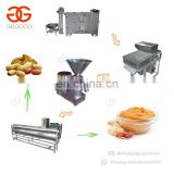 Sesame Melon Seeds Macadamia Nut Roasting Peeling Machinery Production Line Peanut Paste Making Machine