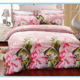 3d bedsheet factory price polyester fabric /3d printed fabric /bedding sets/print microfiber fabric