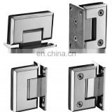 Stainless steel 304 glass to wall 90 degree shower glass door hinge