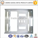 custom hot sale metal garage door fitting custom fabrication services metal stamping parts