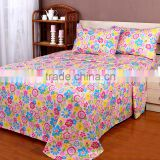 4PCS Polyester Microfiber Solid Bed Sheets, Designs for Pakistan