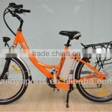 2012 new design e-bike 36V250W alloy frame electrical bike with lithium battery(LD-EB103)