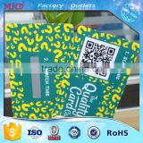 MDC101 high quality scratch prepaid card with hologram scratch panel                                                                                                         Supplier's Choice