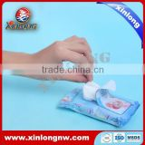 Flushable Wet Wipe for Toilet Wipe by Nonwoven Technic