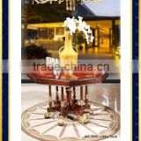 AH-5069 Best Price Hiway China Supplier Round Extendable Dining Table