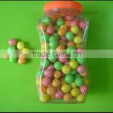 watermelon pattern ball bubble gum filled with powder or fruit jam