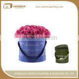 Fancy style round flower shipping boxes