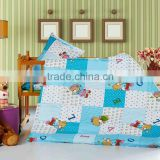 Trade Assurance hot selling 2015 style 100% cotton printed for kids bedding set comforter cover flat sheet bed sheet