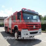 6*4 foam fire truck with 11.4 CBM