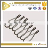Industrial usage 7*19 pressed galvanized steel wire rope sling
