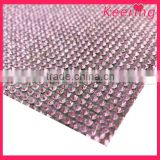 wholesale square australia rhinestone mesh trim for garment and wedding accessory WRT-012