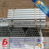 ASTM A53-2007 Round Zinc Coated Galvanized Pipe Size Chart