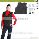 HJ-625P Carbon Infrared Heated Vest Keep Warm With Light and Flexible Carbon Fiber Heating Pads