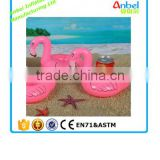 pink flamingo beer pong cup for swimming
