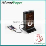 20800mAh Fast Charging Restaurant Power Bank/Coffee Shop Menu Power Bank With Built In Micro Usb Cable