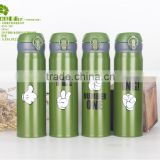 promoting/wholesale 500ml bycicle stainless double warm steel water bottle for sport and travel