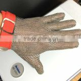 stainless steel metal wire ring glove