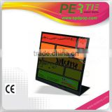 counter electronic notice boards L-shape electronic paper display photo frame e-paper