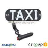 Popular 45SMD 3528 LED Taxi Top Light With Switch Indicator License Plate Light Taxi Sign Roof Light