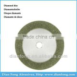 Am13D15 13mm Flexible Miniature Solid Dental Full Coated Diamond Disc Diamond Cutting Discs