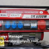 Promotion!!! 8500w Portable Swiss Gasoline Generator /Swiss Kraft Generators