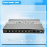Multi-functional IMEI Changeable 850/900/1800/1900Mhz 32 SIM 8 PORTS GSM FWT /GSM FCT/GSM GATEWAY(ETROSS-8888)