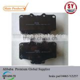brake pad 04465-YZZ57 for Toyota Hilux