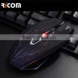 Patent laser gaming mouse with detachable switch and weight system--GM16--Shenzhen Ricom