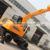 8ton compact excavator earthmoving equipment diggers for sale