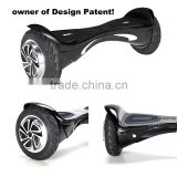 HX Manufacturer Patented 8 inch 2 wheel electric self balance standing scooter with bluetooth UL2272 certificate