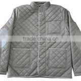 Apparel stocks Mens Padded Polyester Jacket with No Hood man jacket garments stocklot winter jacket