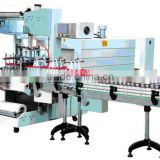 Automatic Sleeve Wrapper + PE Film Shrink Packaging Machine