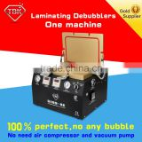 Updated version 2 in 1 lcd glass vacuum laminating with air bubble film foam removing machine for laminating