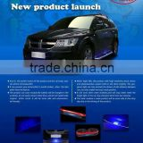 universal front lip wiith solar light ,good quality solar light for universal car