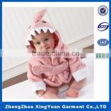 New Baby Boy/Girl Dressing Gown Splash Wrap Bath Hooded Towel Robe