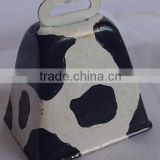 "2"" metal cow bell A9-C03 ,many colors available (A068)"