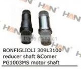BONFIGLIOLI 309L310 reducer shaft & comer PG1003MS motor shaft for putzmeister schwing sany zoomlion concrete pump spare parts