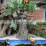 My-dino life size artificial animatronic talking trees in stock