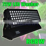 72W rgbw led wall washer light