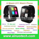 2015 newest available U11 smart watch cell phone bluetooth Wrist watches android phone 100% compatible with IOS