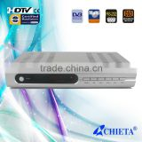Ali3329 Chipset Black Color Free To Air H.264 MPEG2 DVB-S Digital Satellite TV Receiver with Scart Output