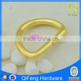 44 metal hinge gate ring ,Stock Golden Metal D Ring Use For Bag Accessories