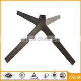 aluminum alloy die casting parts furniture die cast parts chair base