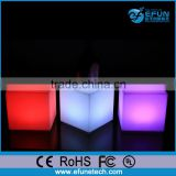 waterproof bar/party /wedding/event led mood light illumination cubes for table and seat