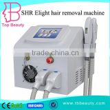Vertical Professional SHR SSR Elight Ipl Laser Skin Care Permanent Hair Removal/e Light Ipl Rf System