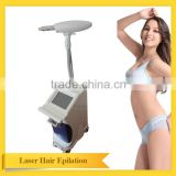 Mini home use newest tech face wrinkle removal and alexandrite laser hair removal machine