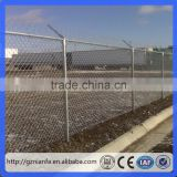 low carbon steel wire cyclone wire fence/PVC coated chain link cyclone wire fence(Guangzhou Factory)