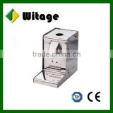 ISO 9001 factory brushed mini van refrigerator